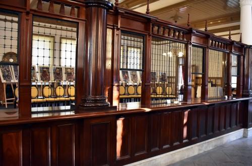 reception karatsu bank