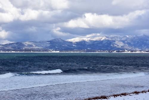 View of Sado island
