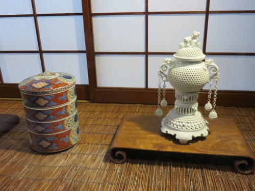 """Nabeshima yaki"" is a high quality kind of the ware."