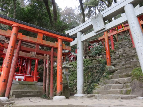 In Yutoku Inari Shrine, soak in the atmosphere