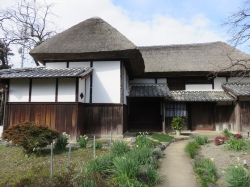 "Hidden away behind the main street is an old samurai house called ""Kyunoritake""."