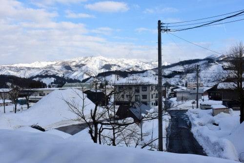 View from my room at Urashin Minshuku