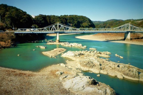 Bridge over Tennryu River