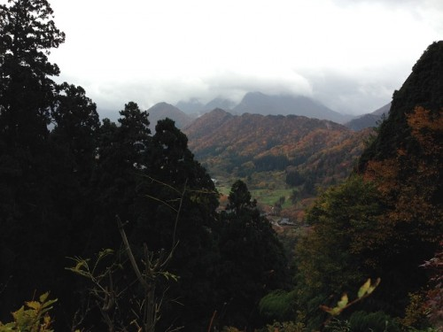 Scenic Viewpoint at Yamadera in Yamagata prefecture