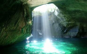 Dogashima cave in Izu Peninsula