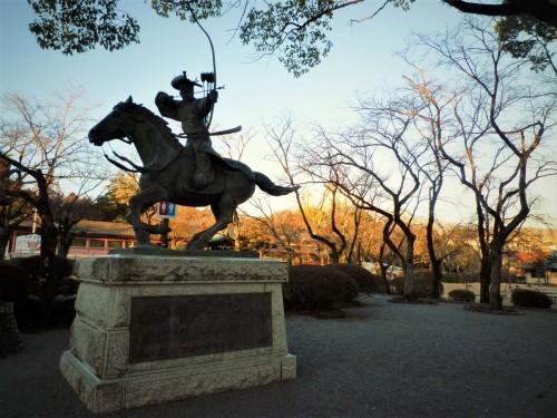 A statue in Fujinomiya