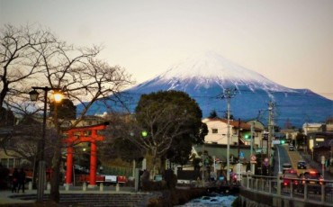 Mount Fuji from Fujinomiya