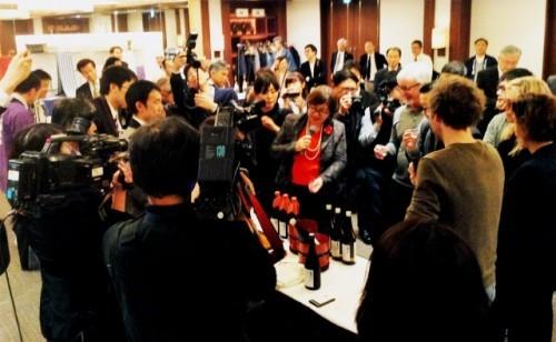 sake symposium in Nagano