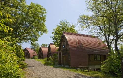 """Nabekura Kougen Heights """"Mori-No-Ie"""" as an accommodation or a convenient visitor centre."""