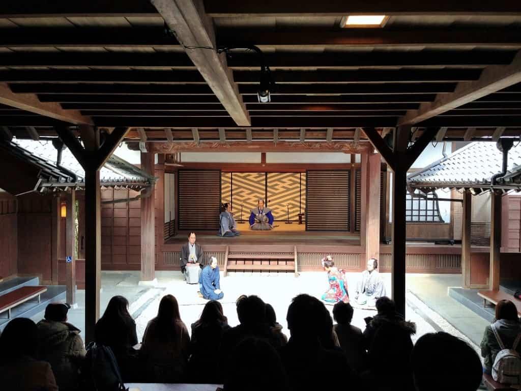 Samurai actors in Nikko at Edo wonderland