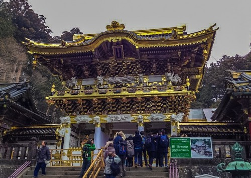 The Nikko Toshogu Shrine (Shinto Shrine)