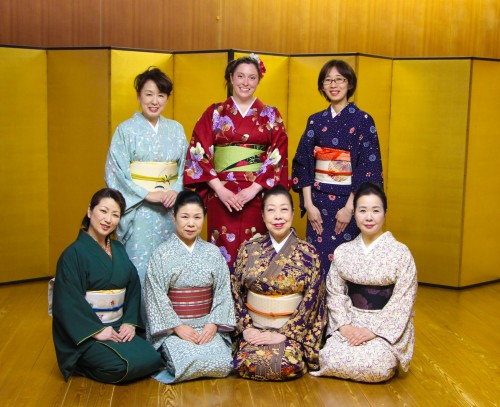 Learning Japanese traditional culture