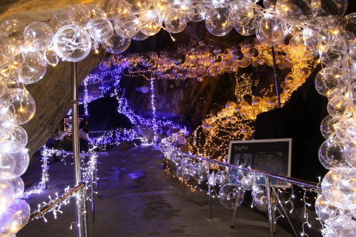 Abukuma cave is a 3000-meter long network of limestone caves located in Fukushima Prefecture.