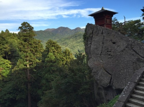 yamadera temple in Yamagata prefecture