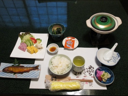Don't forget to use your Oshibori cloth to clean your hands before you eat!