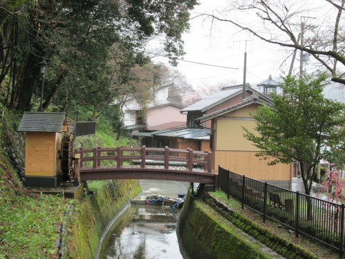 The Soutai Yousui is an ancient irrigation system from the Edo period.