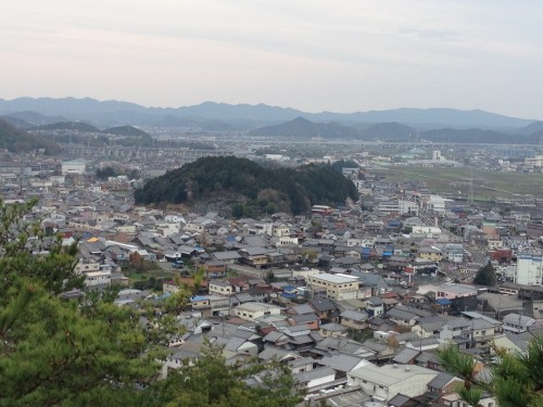 Mine city view in Gifu prefecture