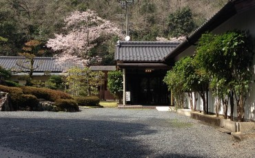 Staying in ryokan in scenic beauty