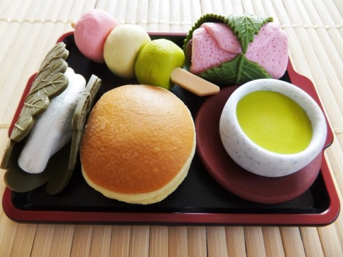 Food-shaped erasers in Japan