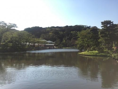 Sankeien Garden Pond