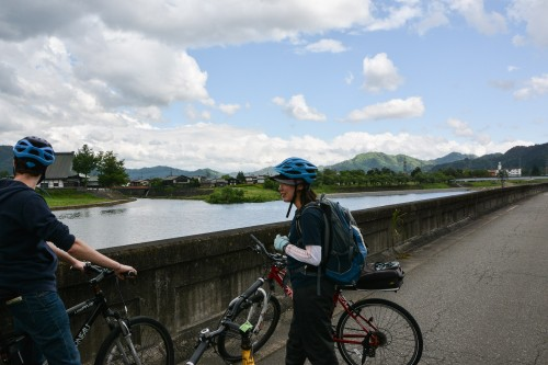 Our cycling tour in Hida Furukawa