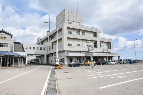 Ferry terminal at Niigata