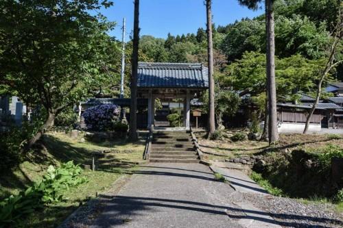 Chorakuji Temple Pathway