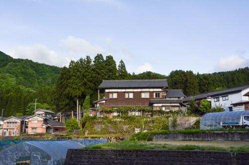The beautiful Minshuku, Zaigomon in Takane