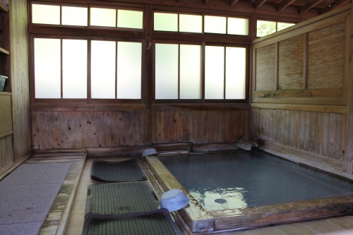 Public Bath 3 at Tamagoyu onsen, Fukushima, Japan.