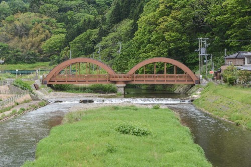 Bridge in Neya Old Town, Gatsugi