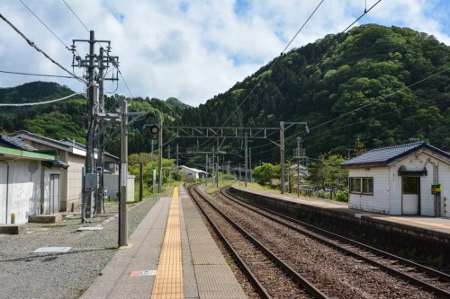 Gatsugi Station Train Tracks