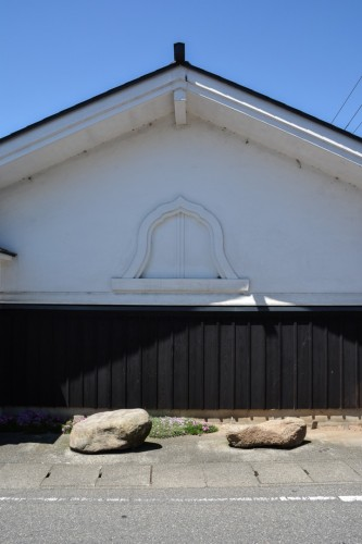 Temple Walls in Murakami