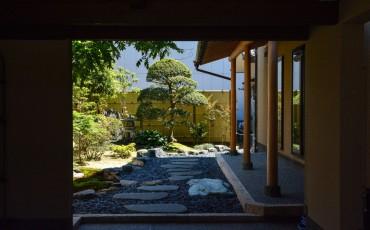 Japanese garden festival in Murakami
