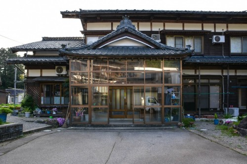 Minshuku Entrance