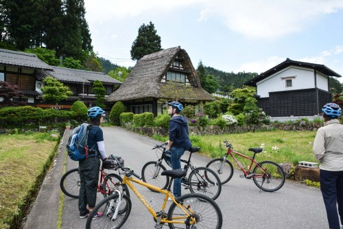 Getting to Know Rural and Traditional Japan by Bike in Hida Furukawa