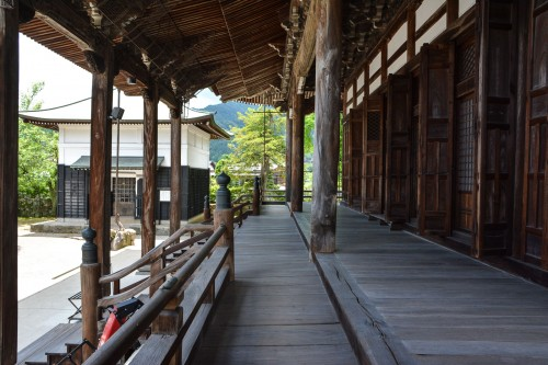Shinshuji Temple was originally covered with gold leaf located in Hida Furukawa.