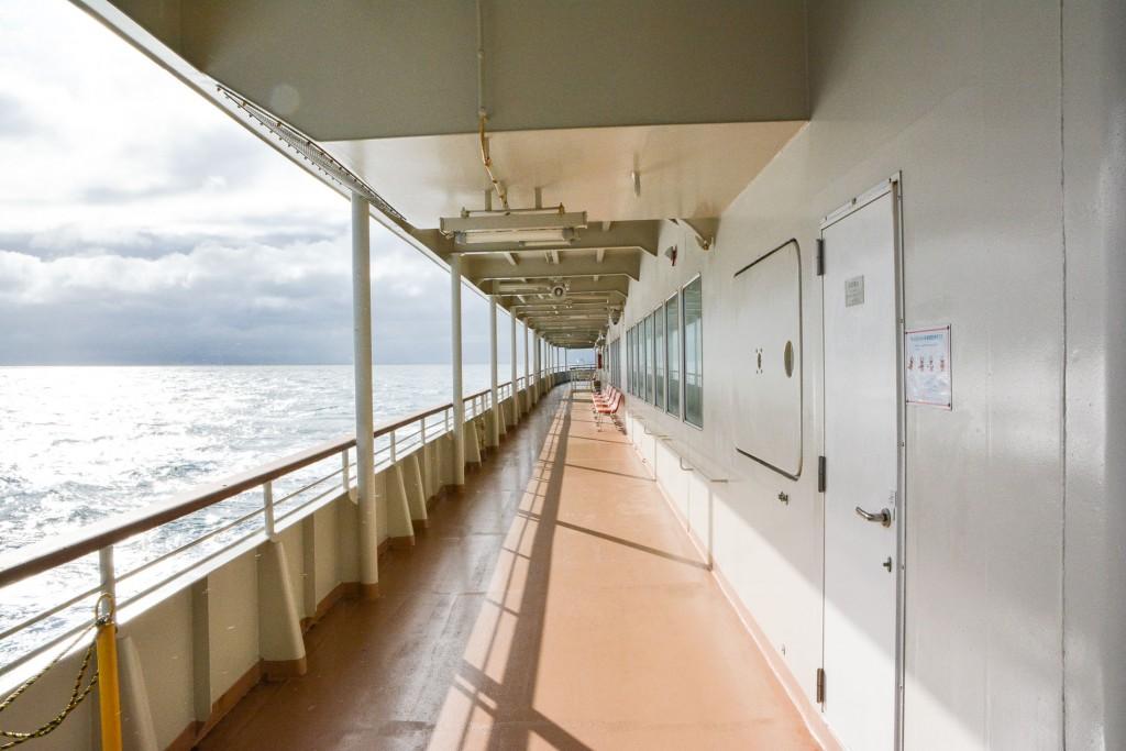 Sado Kisen ferry to Sado island