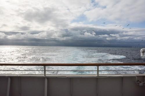 Sea of Japan where I saw from Sado Kisen Ferry