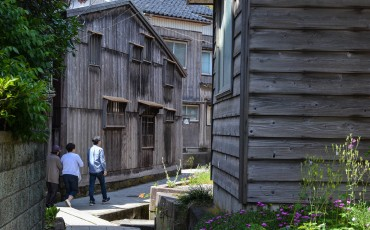Shukunegi has been declared as a National Important Preservation Area for Traditional Buildings and Architecture on Sado island, Niigata, Japan.