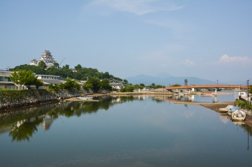 Matsuura river and Karatsu castle