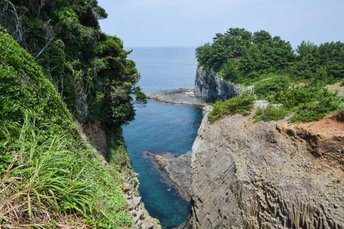 Nanatsugama cave in Karatsu city, Saga prefecture, Japan.