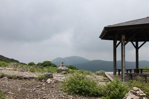 Aso Kuju national park in Rita prefecture, Kyushu, Japan.