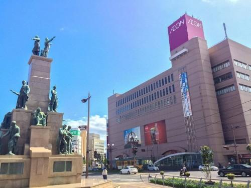 AEON Kagoshima Chuo, Kagoshima prefecture, Kyushu, Japan.