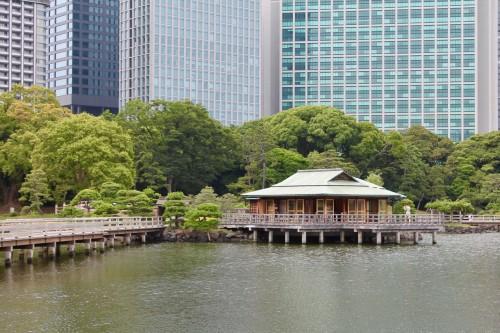 Hamarikyu Gardens, Central Tokyo