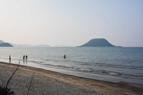 The Hihashinogama beach, close to Karatsu,Saga.