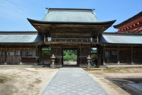 Tajima shrine at Kabeshima island, Karatsu, Kyushu.