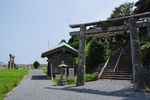 Tajima shrines is one of the oldest shrine in Hizen area.