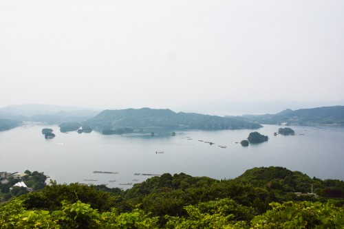 Iroba Observation Deck, Saga prefecture, Kyushu, Japan.