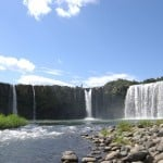 Discover the Archetypal Japanese Landscape and Majestic Waterfall in Oita