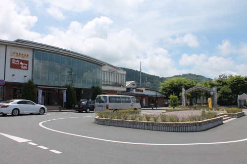 Wakasa Takahama Station, Fukui prefecture - Tourist Association is Inside